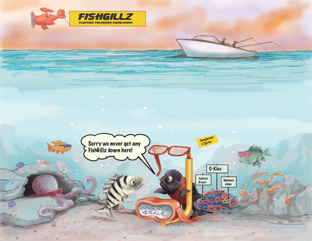 FishGillz Cartoon