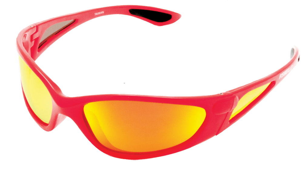 Perfect The Key West U2013 Red Frame / Fire Mirror Lens
