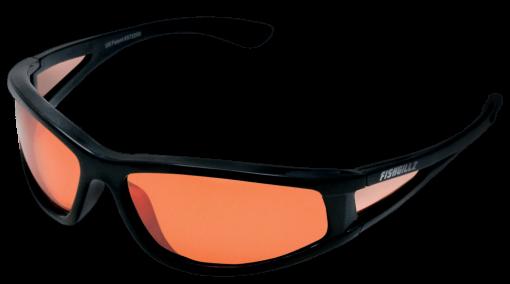 Baja Black frame amber lens
