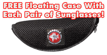 free floating sunglasses case