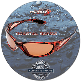 floating polarized sunglasses for sports fishermen, boaters and more - Coastal Series