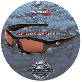 Riptide series of floating polarized sunglasses