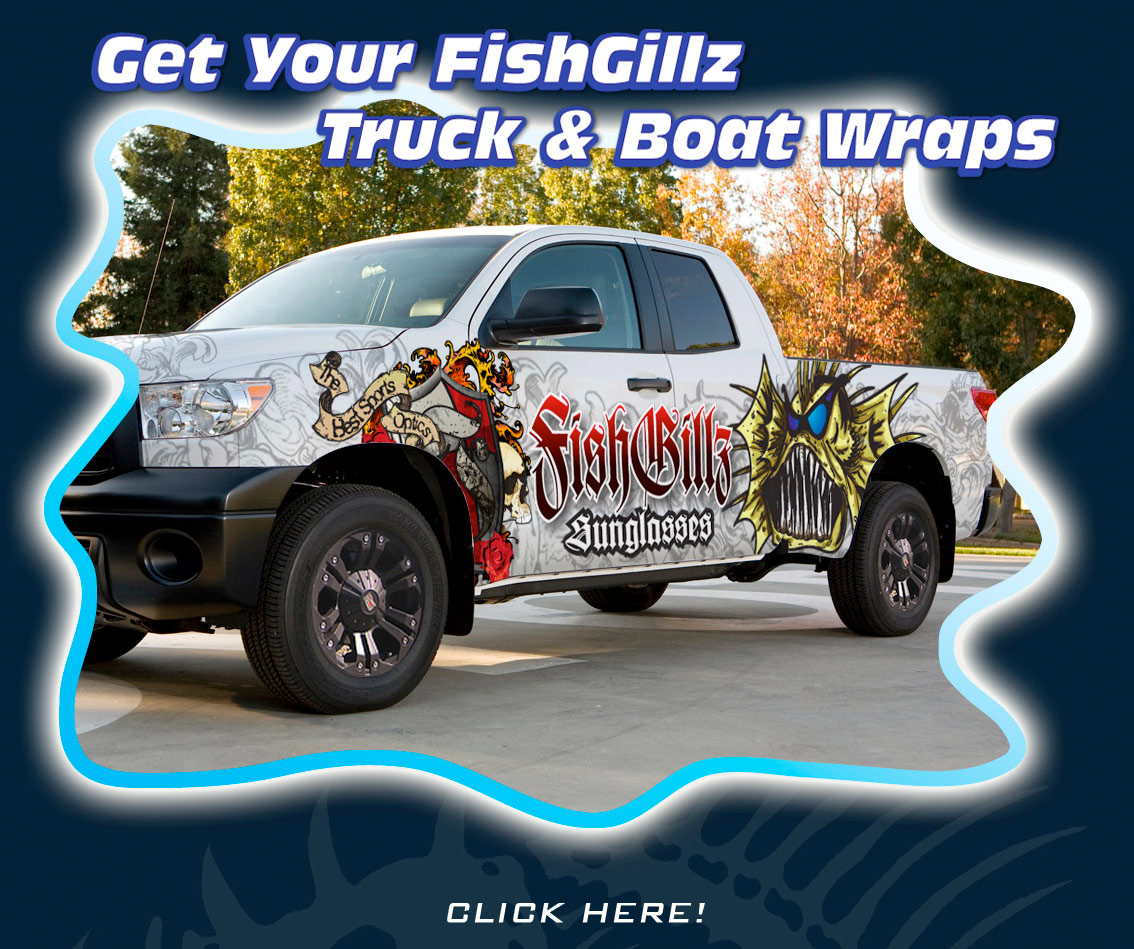 TRUCK AND BOAT WRAPS FROM FISHGILLZ